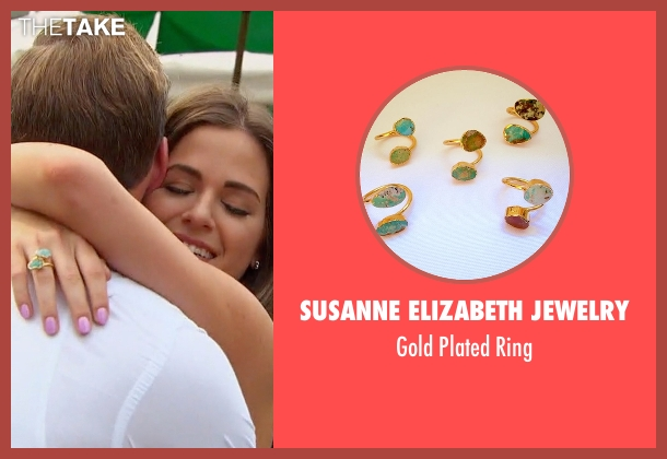 Susanne Elizabeth Jewelry gold ring from The Bachelorette seen with JoJo Fletcher