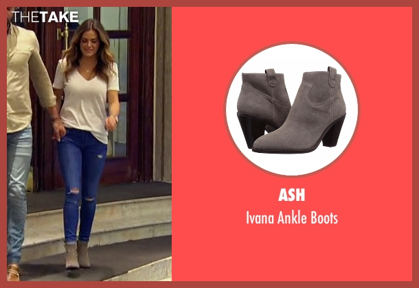 Ash gray boots from The Bachelorette seen with JoJo Fletcher