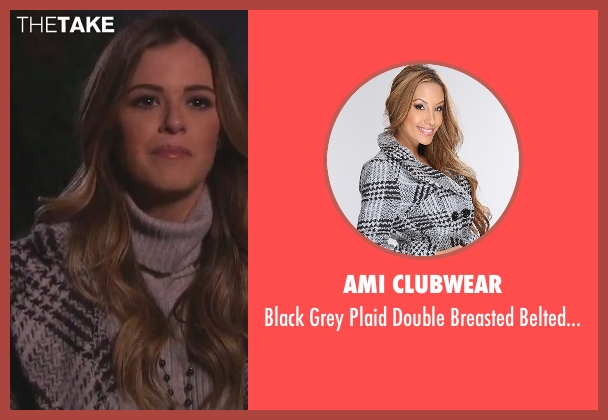 AMI Clubwear gray outerwear from The Bachelorette seen with JoJo Fletcher