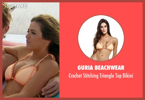 Guria Beachwear  orange bikini from The Bachelorette seen with JoJo Fletcher