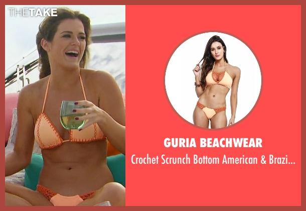 Guria Beachwear orange cuts from The Bachelorette seen with JoJo Fletcher