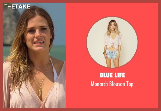 Blue Life pink top from The Bachelorette seen with JoJo Fletcher