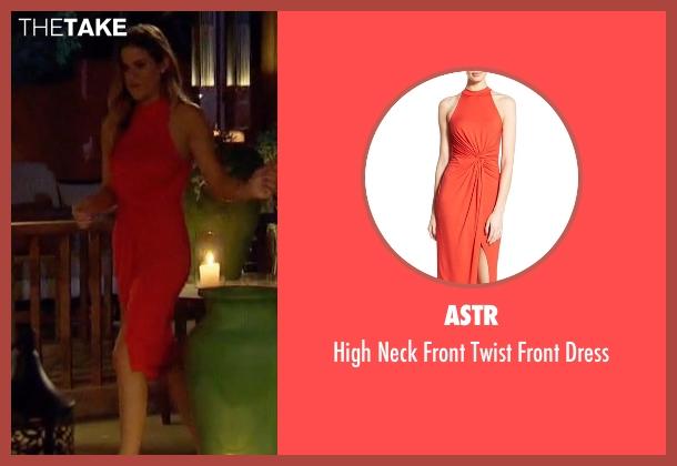 ASTR red dress from The Bachelorette seen with JoJo Fletcher
