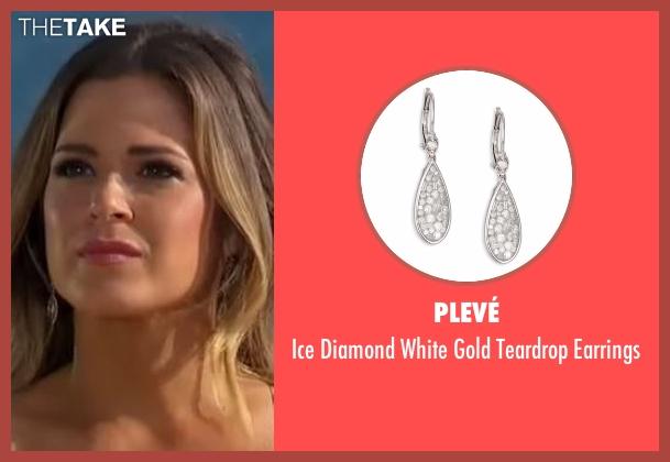Plevé silver earrings from The Bachelorette seen with JoJo Fletcher