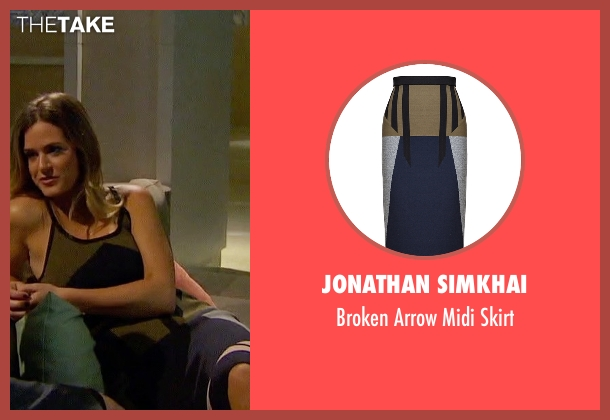 Jonathan Simkhai skirt from The Bachelorette seen with JoJo Fletcher