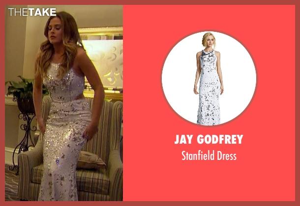 Jay Godfrey white dress from The Bachelorette seen with JoJo Fletcher