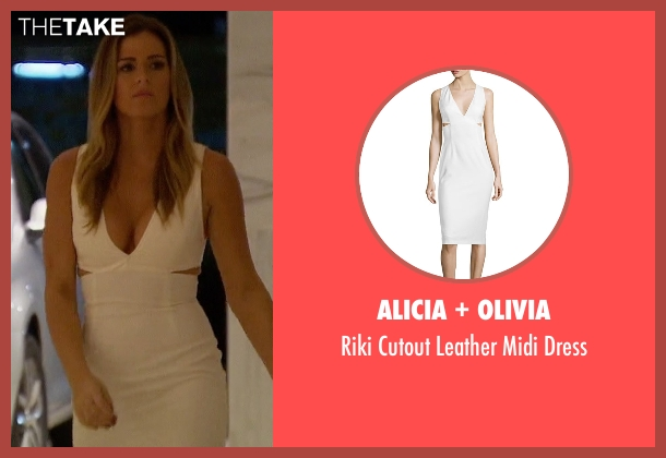 Alicia + Olivia white dress from The Bachelorette seen with JoJo Fletcher