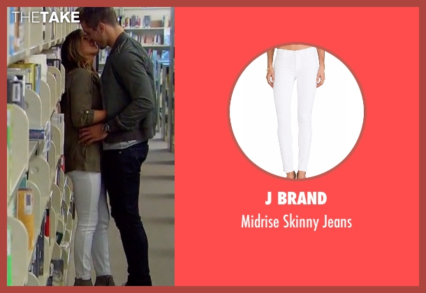 J Brand white jeans from The Bachelorette seen with JoJo Fletcher