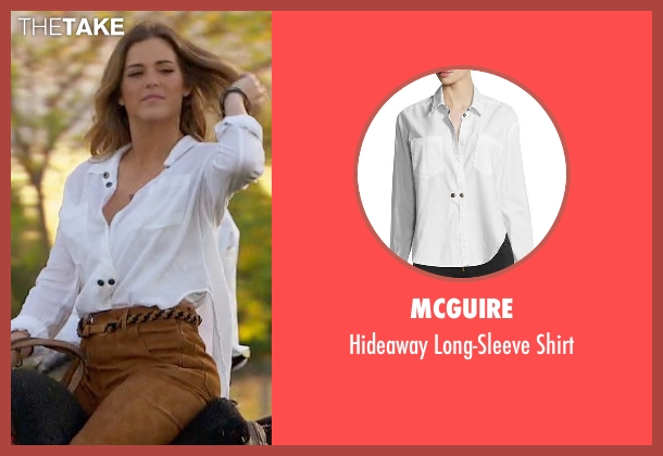 McGuire white shirt from The Bachelorette seen with JoJo Fletcher