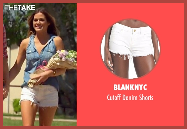 BLANKNYC  white shorts from The Bachelorette seen with JoJo Fletcher