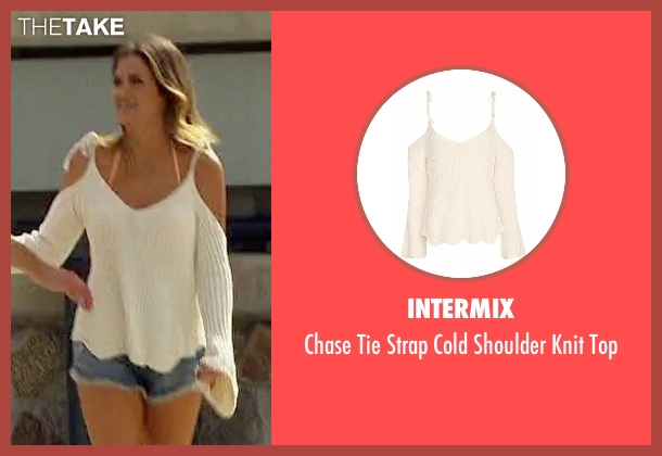 Intermix white top from The Bachelorette seen with JoJo Fletcher