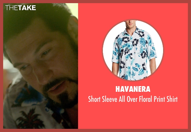 Havanera white shirt from Me and Earl and the Dying Girl seen with Jon Bernthal (Mr. McCarthy)