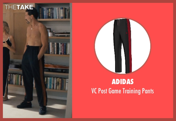 adidas black pants from The Wolf of Wall Street seen with Jon Bernthal (Brad)