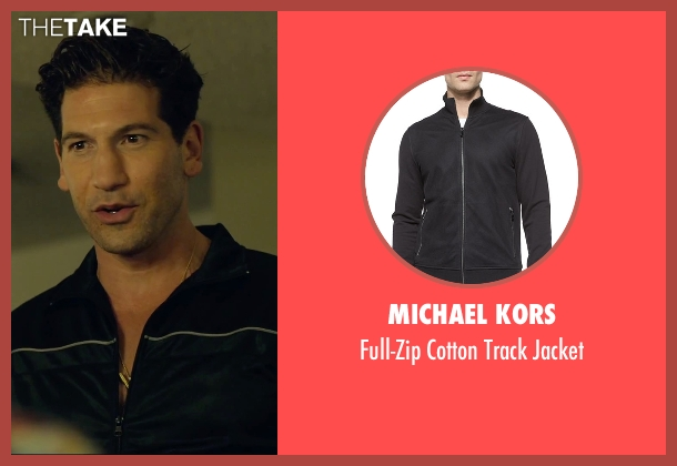 Michael Kors black jacket from We Are Your Friends seen with Jon Bernthal (Paige)