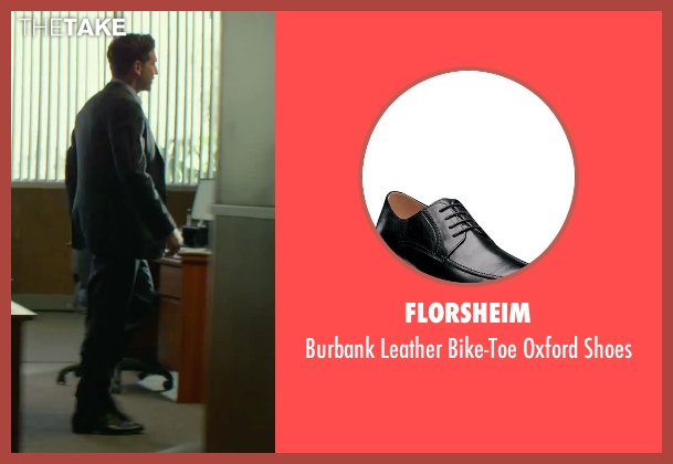 Florsheim black shoes from We Are Your Friends seen with Jon Bernthal (Paige)