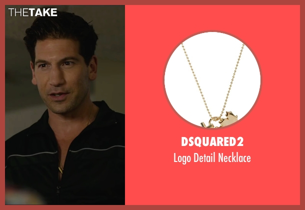 Dsquared2 gold necklace from We Are Your Friends seen with Jon Bernthal (Paige)
