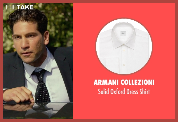 Armani Collezioni white shirt from We Are Your Friends seen with Jon Bernthal (Paige)