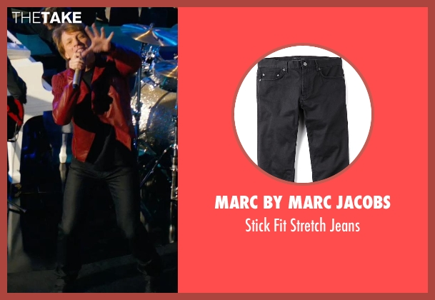 Marc by Marc Jacobs black jeans from New Year's Eve seen with Jon Bon Jovi (Jensen)