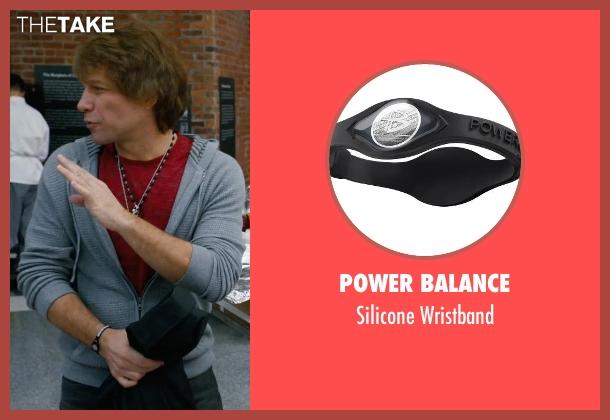 Power Balance black wristband from New Year's Eve seen with Jon Bon Jovi (Jensen)