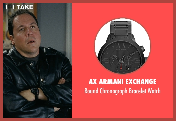 AX Armani Exchange black watch from Couple's Retreat seen with Jon Favreau (Joey)