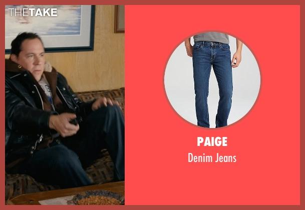 Paige blue jeans from Couple's Retreat seen with Jon Favreau (Joey)