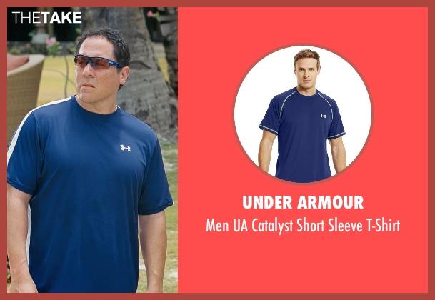 Under Armour blue t-shirt from Couple's Retreat seen with Jon Favreau (Joey)