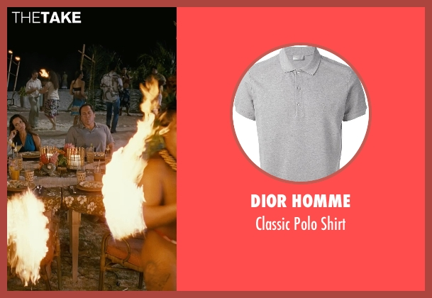 Dior Homme gray shirt from Couple's Retreat seen with Jon Favreau (Joey)