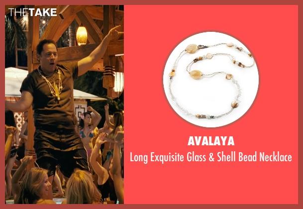 Avalaya necklace from Couple's Retreat seen with Jon Favreau (Joey)