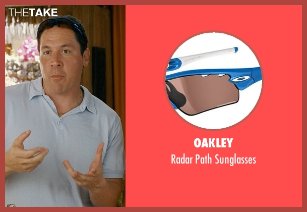 Oakley orange sunglasses from Couple's Retreat seen with Jon Favreau (Joey)