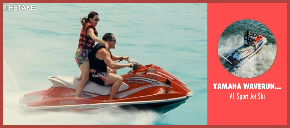 Yamaha Waverunner ski from Couple's Retreat seen with Jon Favreau (Joey)