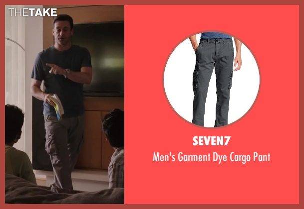 Seven7 gray pant from Million Dollar Arm seen with Jon Hamm (J.B. Bernstein)