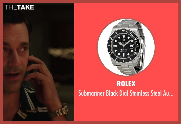 Rolex watch from Million Dollar Arm seen with Jon Hamm (J.B. Bernstein)