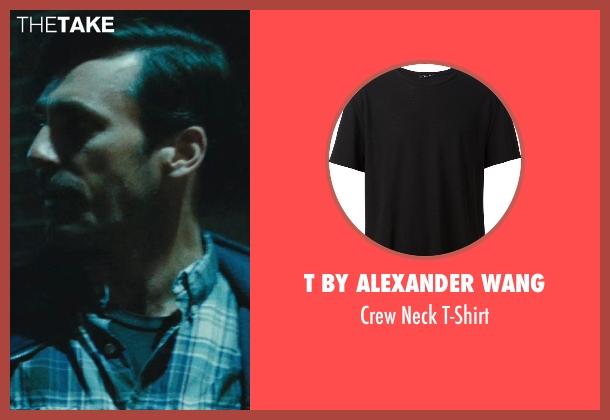 T By Alexander Wang black t-shirt from The Town seen with Jon Hamm (FBI S.A. Adam Frawley)