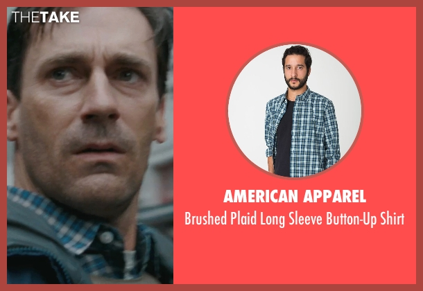 American Apparel blue shirt from The Town seen with Jon Hamm (FBI S.A. Adam Frawley)