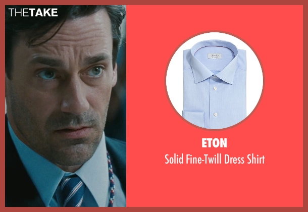 Eton shirt from The Town seen with Jon Hamm (FBI S.A. Adam Frawley)