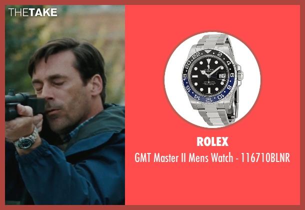 Rolex silver 116710blnr from The Town seen with Jon Hamm (FBI S.A. Adam Frawley)