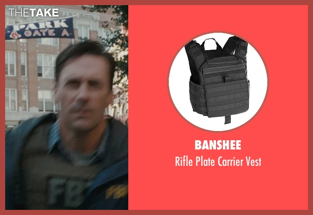 Banshee vest from The Town seen with Jon Hamm (FBI S.A. Adam Frawley)