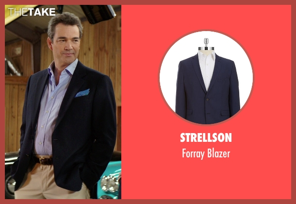 Strellson blue blazer from The Best of Me seen with Jon Tenney (Harvey Collier)