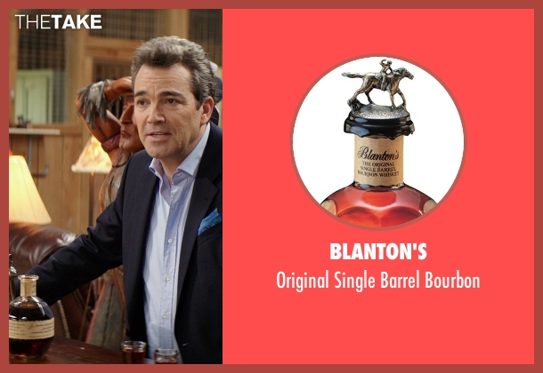 Blanton's bourbon from The Best of Me seen with Jon Tenney (Harvey Collier)