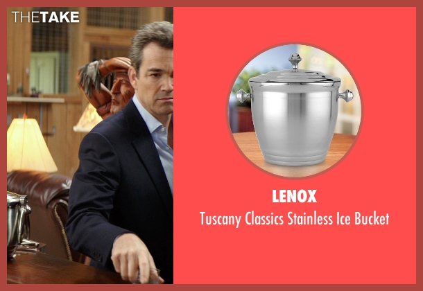 Lenox bucket from The Best of Me seen with Jon Tenney (Harvey Collier)