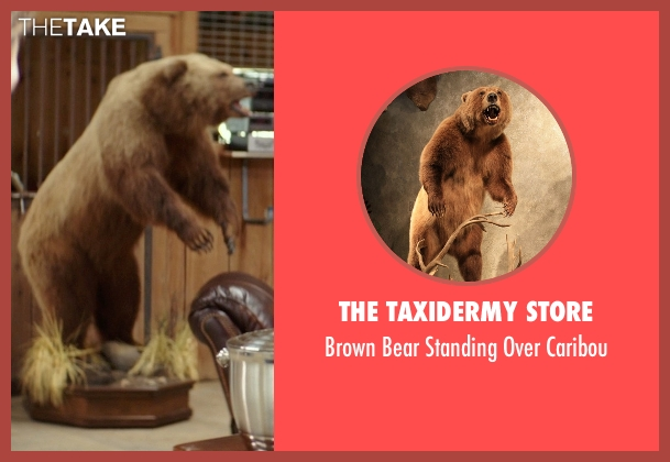 The Taxidermy Store caribou from The Best of Me seen with Jon Tenney (Harvey Collier)