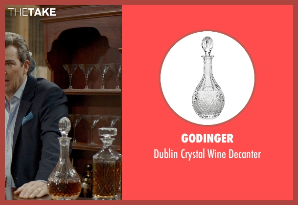 Godinger decanter from The Best of Me seen with Jon Tenney (Harvey Collier)