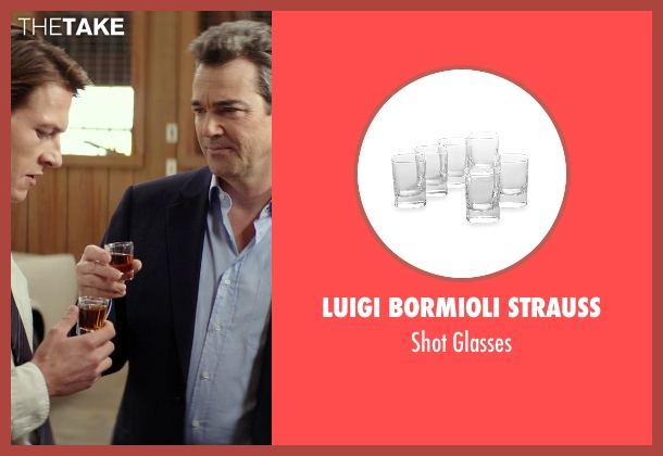 Luigi Bormioli Strauss glasses from The Best of Me seen with Jon Tenney (Harvey Collier)