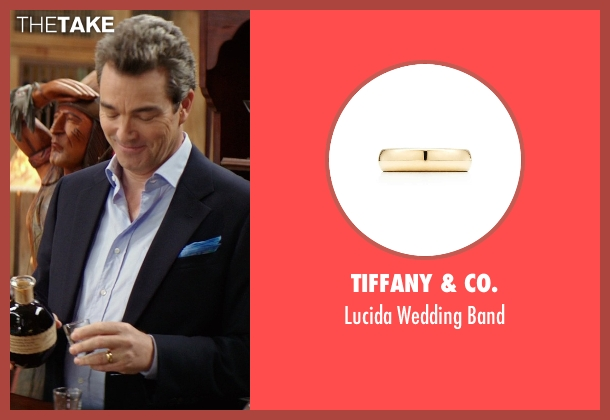 Tiffany & Co. gold band from The Best of Me seen with Jon Tenney (Harvey Collier)