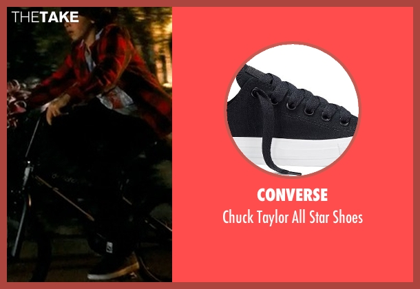 Converse black shoes from Crazy, Stupid, Love. seen with Jonah Bobo (Robbie)
