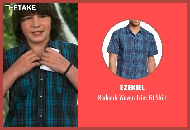 Ezekiel  blue shirt from Crazy, Stupid, Love. seen with Jonah Bobo (Robbie)