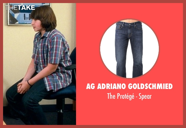 AG Adriano Goldschmied blue spear from Crazy, Stupid, Love. seen with Jonah Bobo (Robbie)