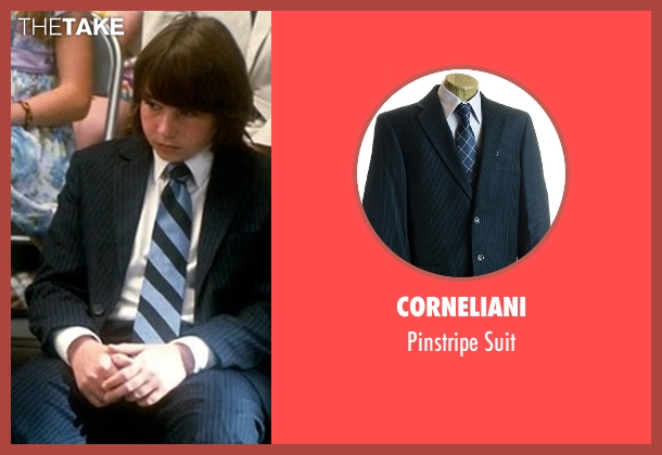 Corneliani blue suit from Crazy, Stupid, Love. seen with Jonah Bobo (Robbie)