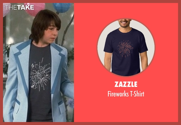 Zazzle blue t-shirt from Crazy, Stupid, Love. seen with Jonah Bobo (Robbie)