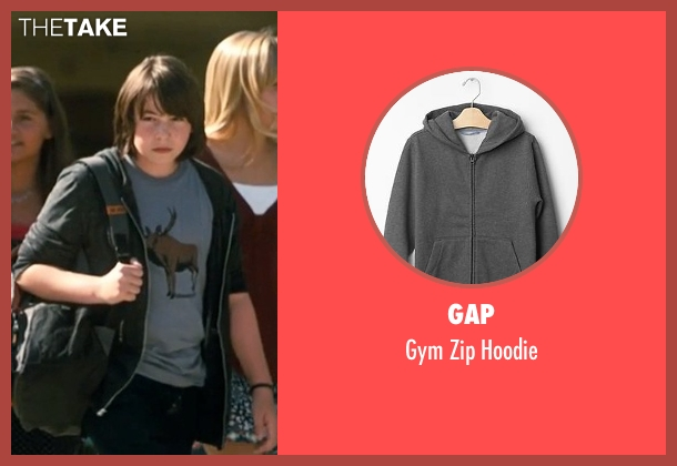 Gap gray hoodie from Crazy, Stupid, Love. seen with Jonah Bobo (Robbie)